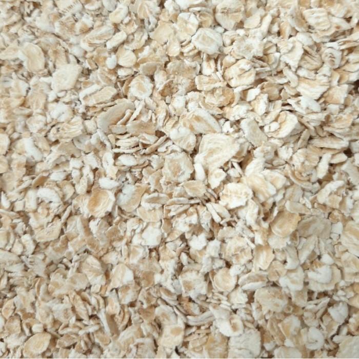 Flocons d'avoine rapide et sans gluten, de culture naturelle