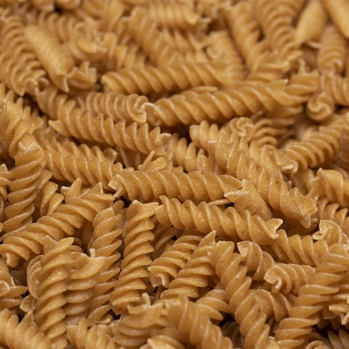 Fusilli blé entier de culture naturelle