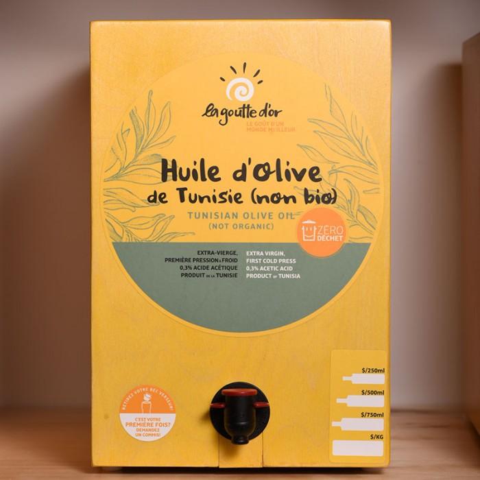 Huile d'olive extra-vierge de Tunisie