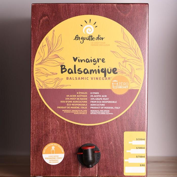 Vinaigre balsamique 8* de source naturelle