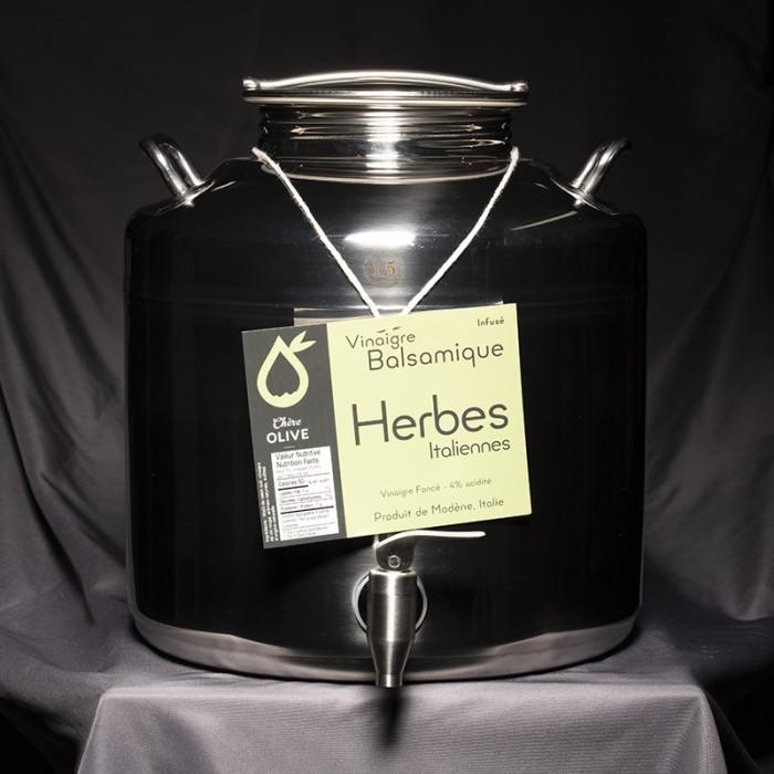 Vinaigre Balsamique infusé Herbes Italiennes