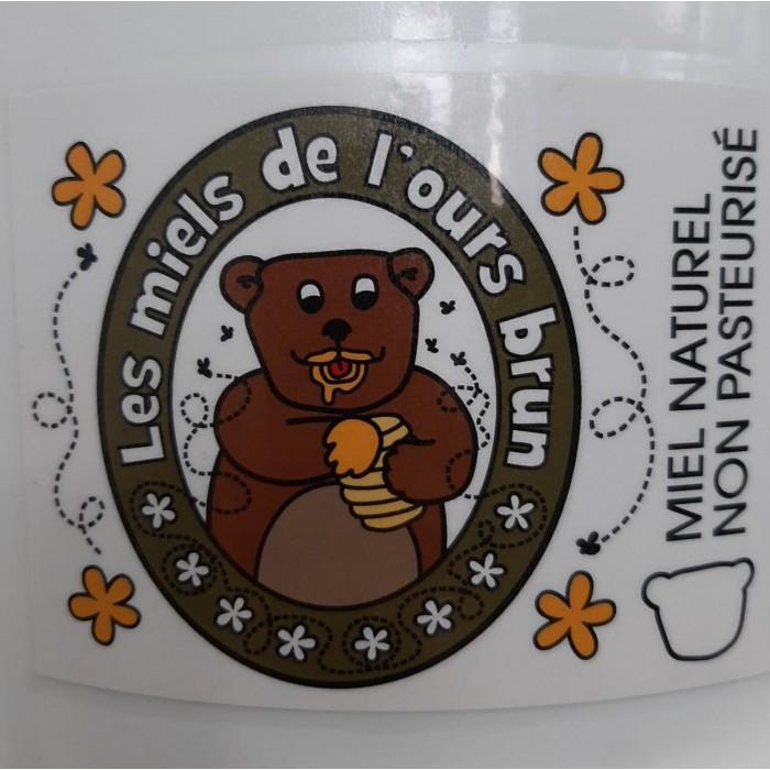 Miel de l'ours brun